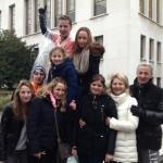 Belle équipe de spectateur au semi-marathon de Boulogne-Billancourt 2013