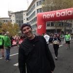 Rachid au semi-marathon de Boulogne 2013