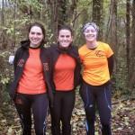 Les filles de l'ACBB Triathlon au cross de Meudon 2013