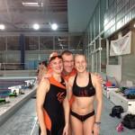 Caroline, Didier et Sophie à Vittel