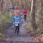 Ronan Lumbroso au trail des marcassins