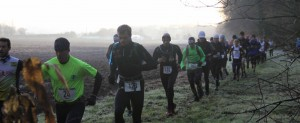Christophe Domain au trail des marcassins 2014