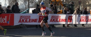 Grégory au semi-marathon de Paris 2014