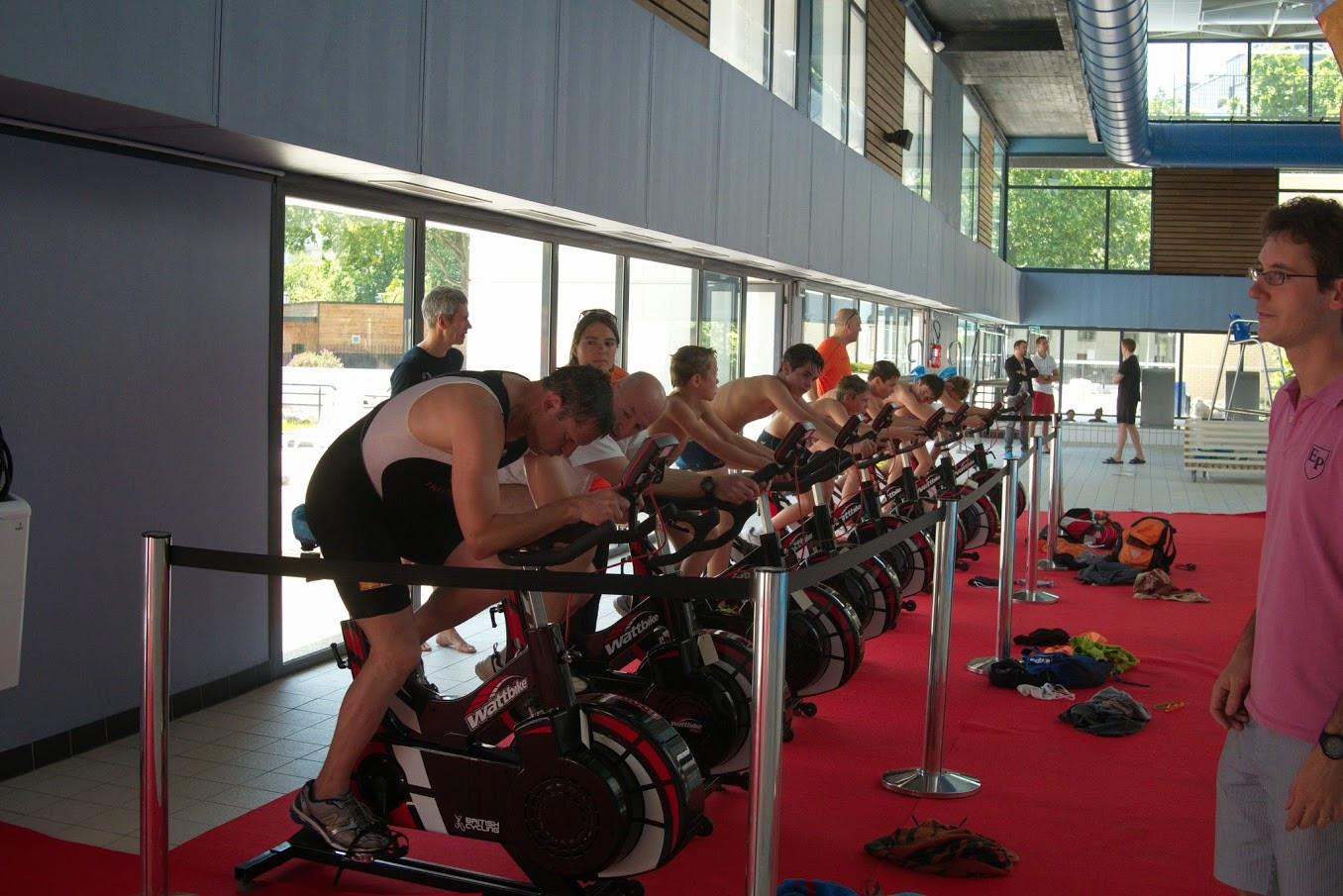 Photos du wattbike d couverte de l 39 acbb acbb triathlon for Piscine vert marine boulogne