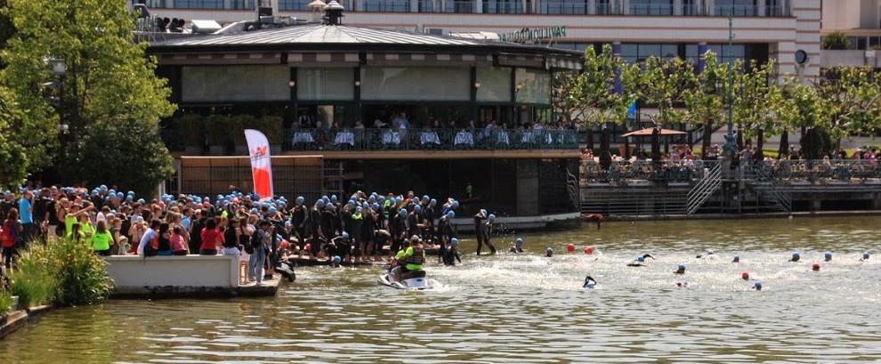Triathlon Enghien-les-bains 2014