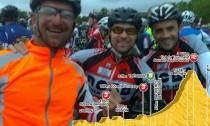 Etape du tour 2014 avec Olivier, Matthieu et Adrien