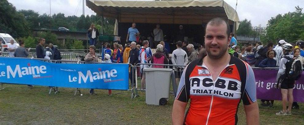 Sergiu au triathlon du Mans 2014