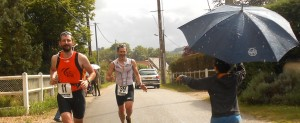 Jérôme et Guillaume au triathlon de Fains 2014