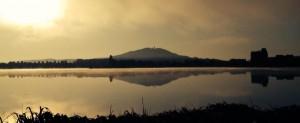 Lac du Vaivre au triathlon de Vesoul