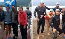Traversée du lac d'Annecy 2014
