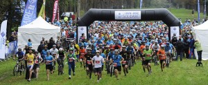 Bike'n run dans le parc de St Cloud