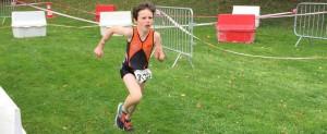 Les jeunes au triathlon du stade français