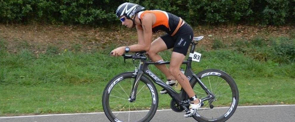 Rudy au triathlon de La Ferté Bernard 2015