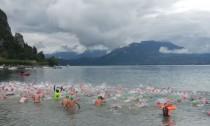 Annecy, départ de la traversée du lac