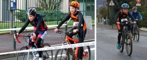 Jeunes ACBB Triathlon au duathlon de Soisy