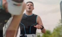 Arrivée de Yannick au triathlon de Lacanau 2016
