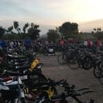 Parc à vélo de l'ironman d'Aix