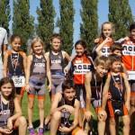 Carton plein chez les jeunes au triathlon du stade français 2017