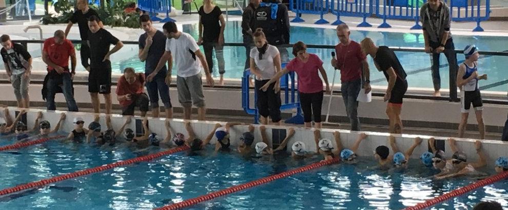 Aquathlon jeunes de Sainte Geneviève des Bois 2017