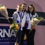 L'équipe féminine, championne de France par équipe de duathlon longue distance