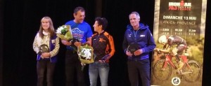 Podium Ironman 70.3 Aix