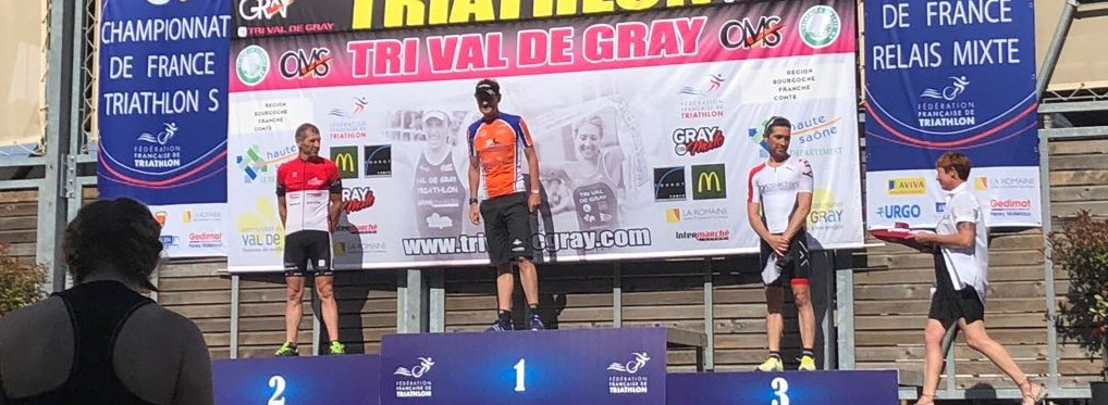 Championnat de France triathlon S et jeunes 2018