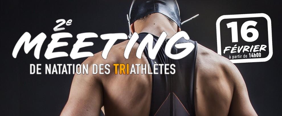Meeting de natation pour triathlètes 2019