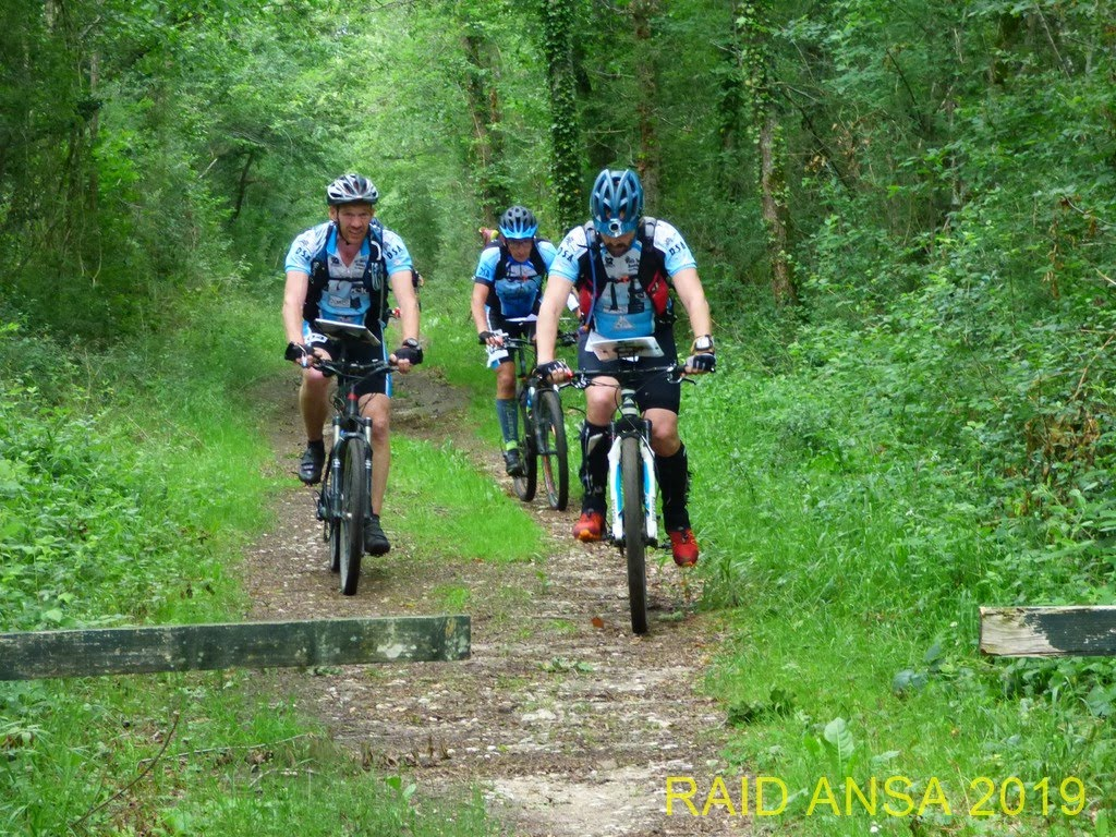 Section VTT'Orientation sur le raid Ansa 2019